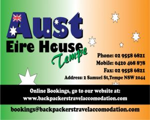 Aust Eire House Tempe - Wagga Wagga Accommodation