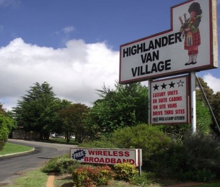 Highlander Van Village - Wagga Wagga Accommodation