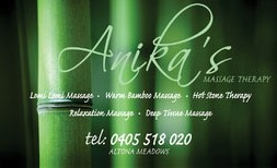 Anikas Massage Therapy - Wagga Wagga Accommodation
