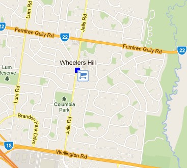 Wheelers Hill Shopping Centre - Wagga Wagga Accommodation