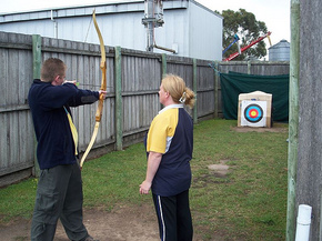 Bairnsdale Archery Mini Golf  Games Park - Wagga Wagga Accommodation