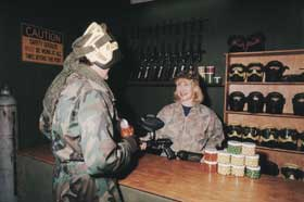 Indoor Skirmish - Paintball Sports - Wagga Wagga Accommodation