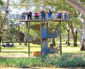Darling and Murray River Junction and Viewing Tower - Wagga Wagga Accommodation