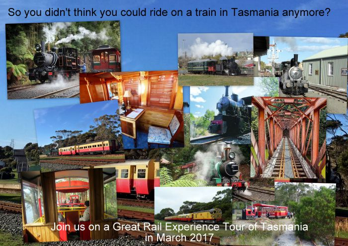 Great Rail Experiences  Tasmania Tour 2017 - Wagga Wagga Accommodation