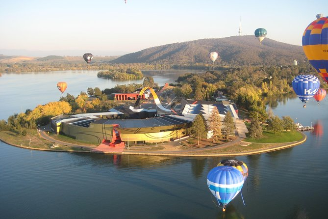 Canberra Hot Air Balloon Flight at Sunrise - Wagga Wagga Accommodation