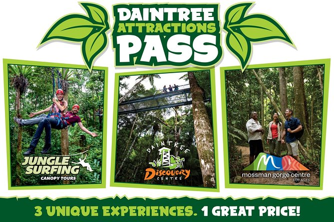 Daintree Atttractions Pass The Best of the Daintree in a Day - Wagga Wagga Accommodation