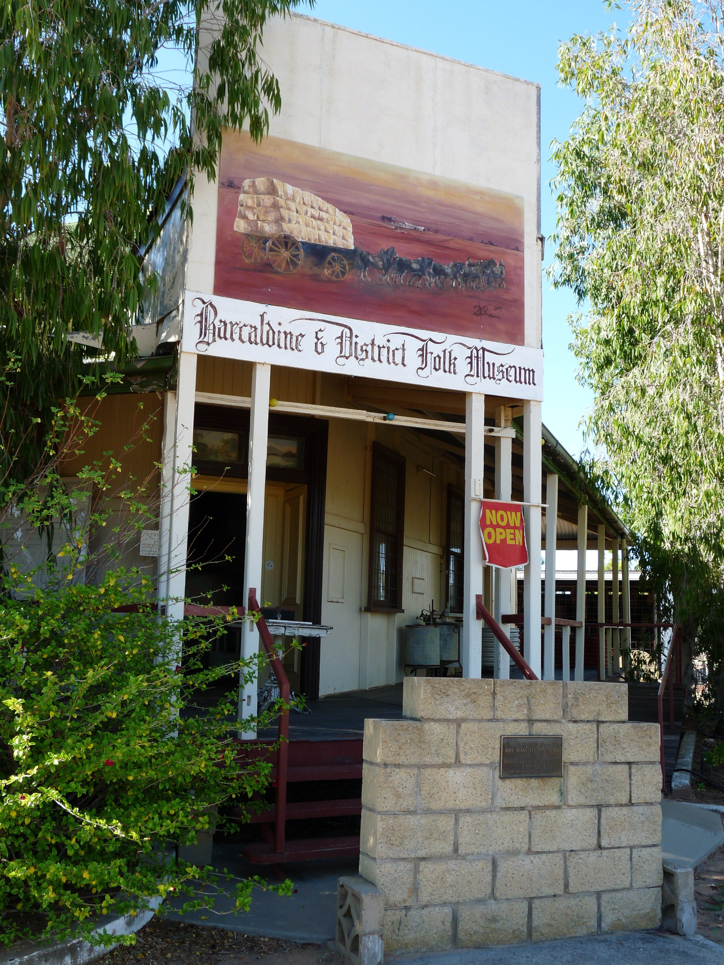 Barcaldine and District Historical Museum - Wagga Wagga Accommodation