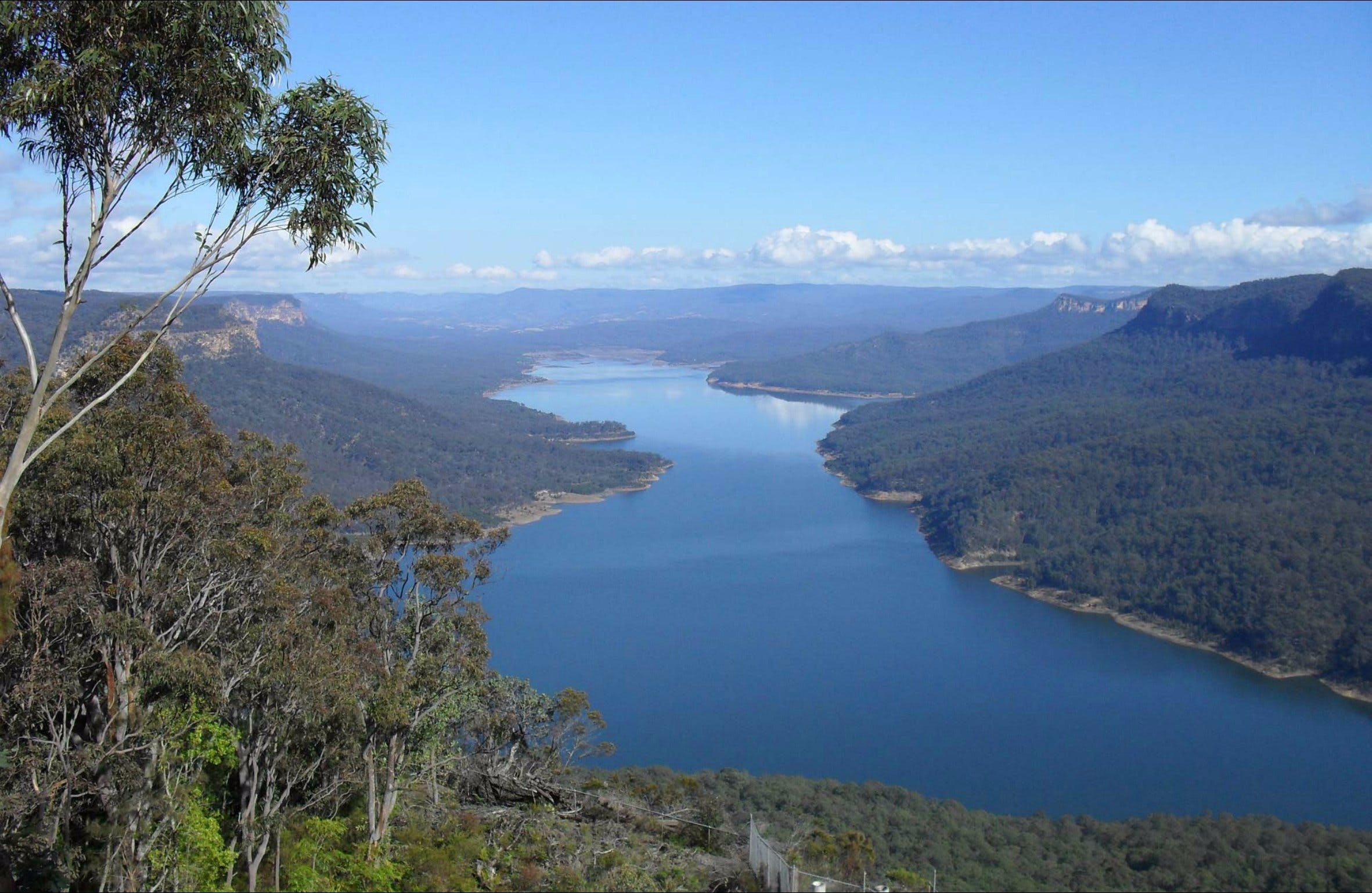 Burragorang lookout and picnic area - Wagga Wagga Accommodation