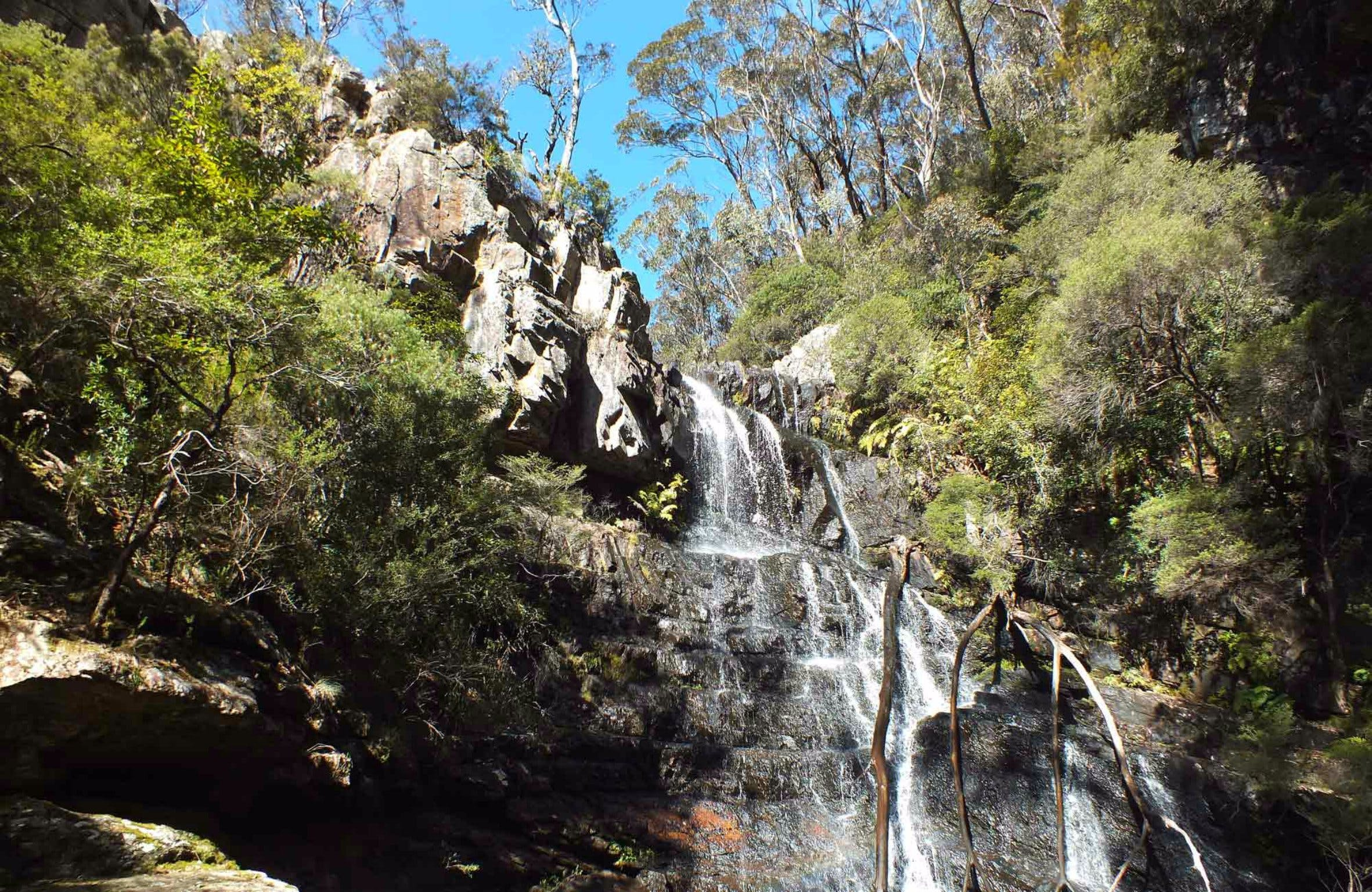 Waterfall Walk Kanangra-Boyd National Park - Wagga Wagga Accommodation