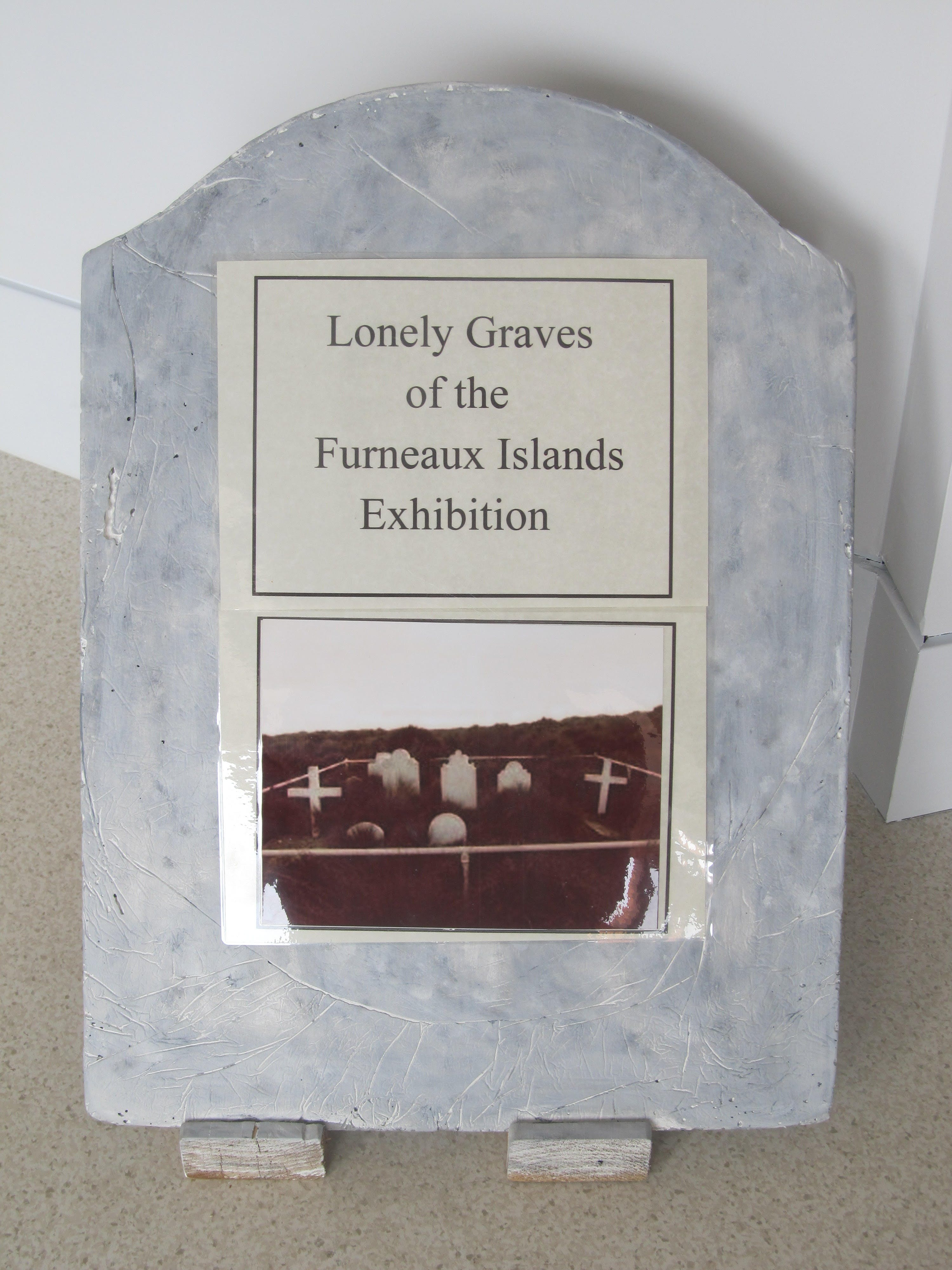 Lonely Graves of the Furneaux Islands Exhibition - Wagga Wagga Accommodation