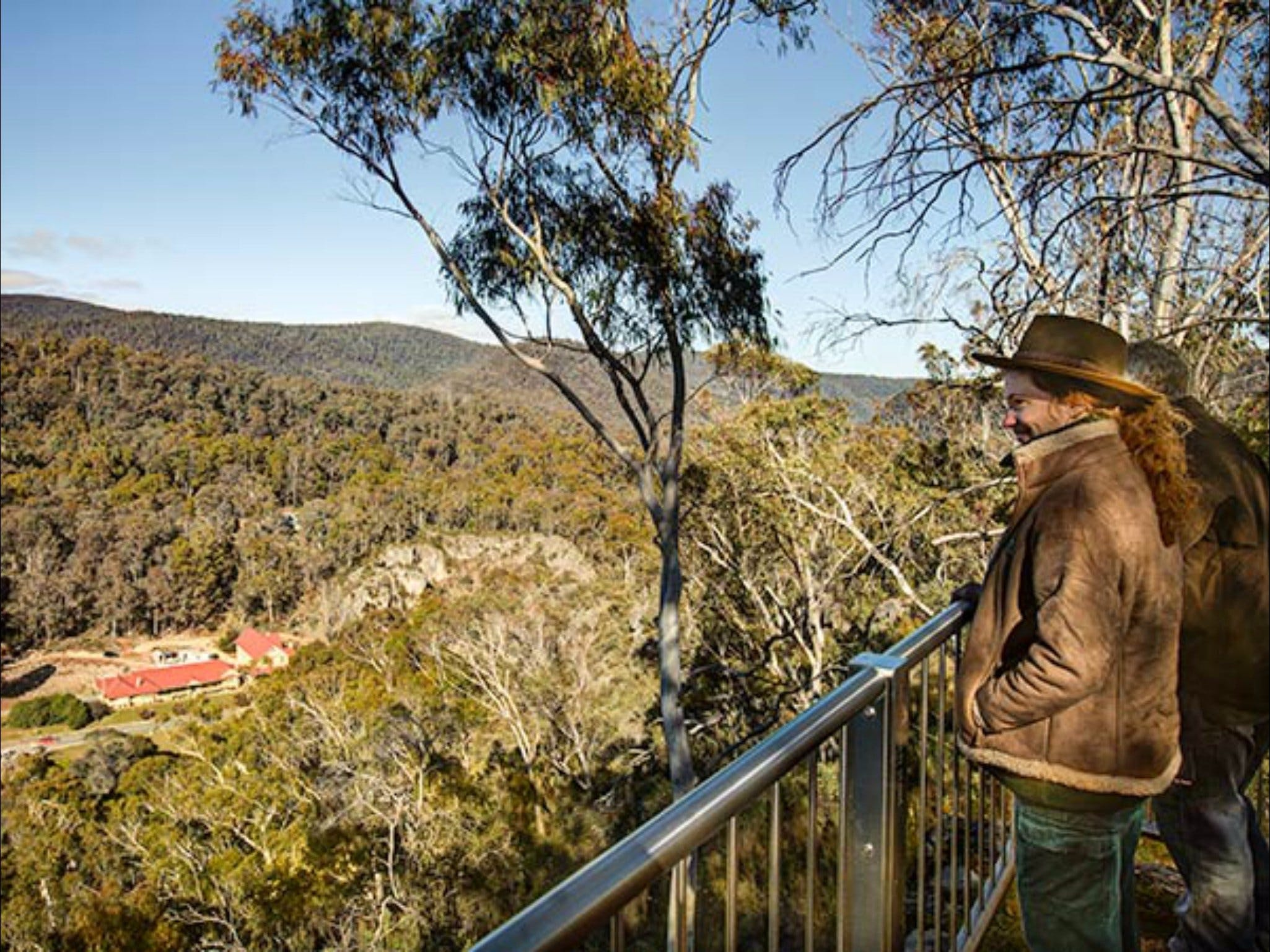 Yarrangobilly Caves  Bluff lookout walk - Wagga Wagga Accommodation