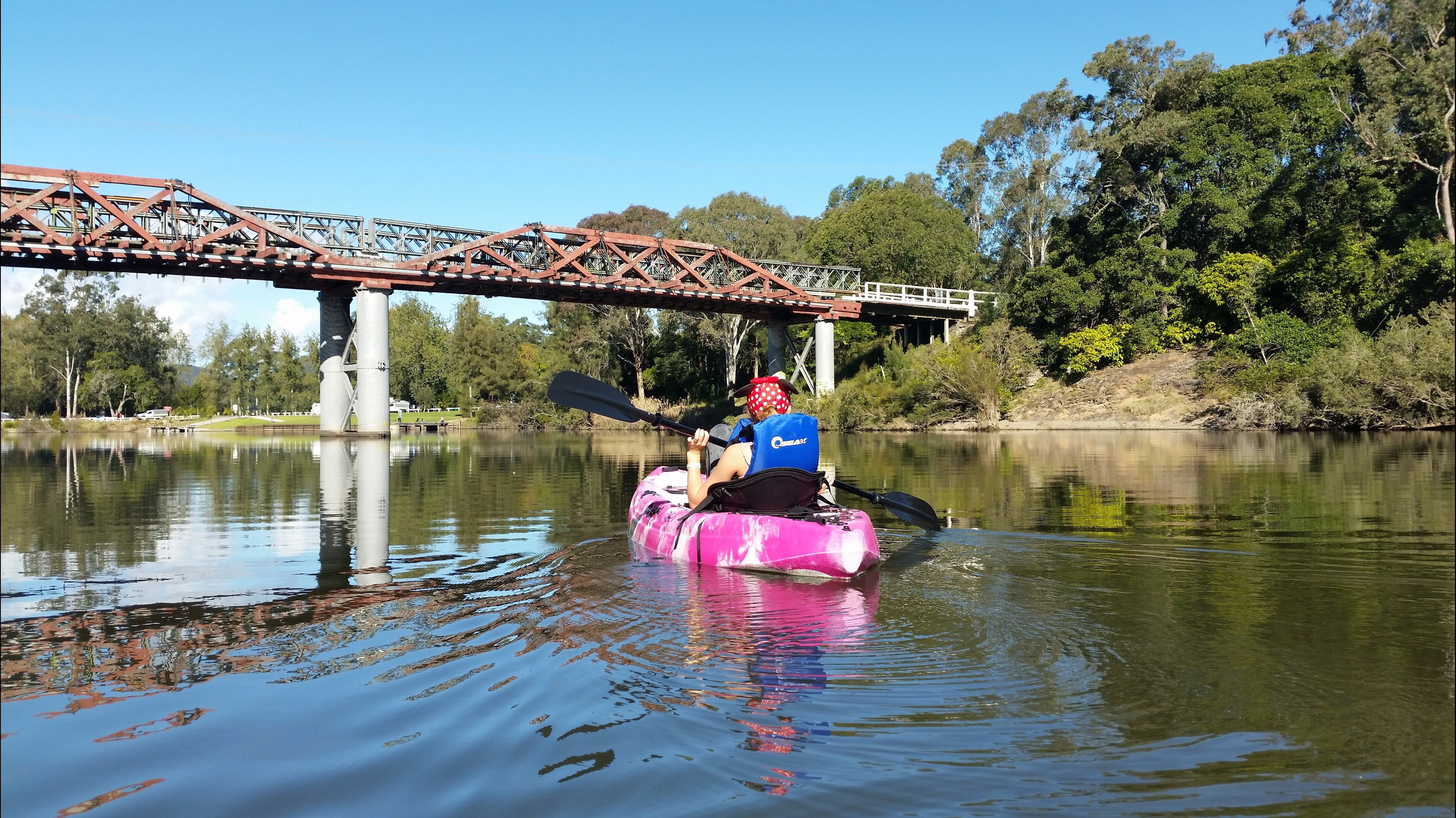 Canoeing at Clarence Town - Wagga Wagga Accommodation