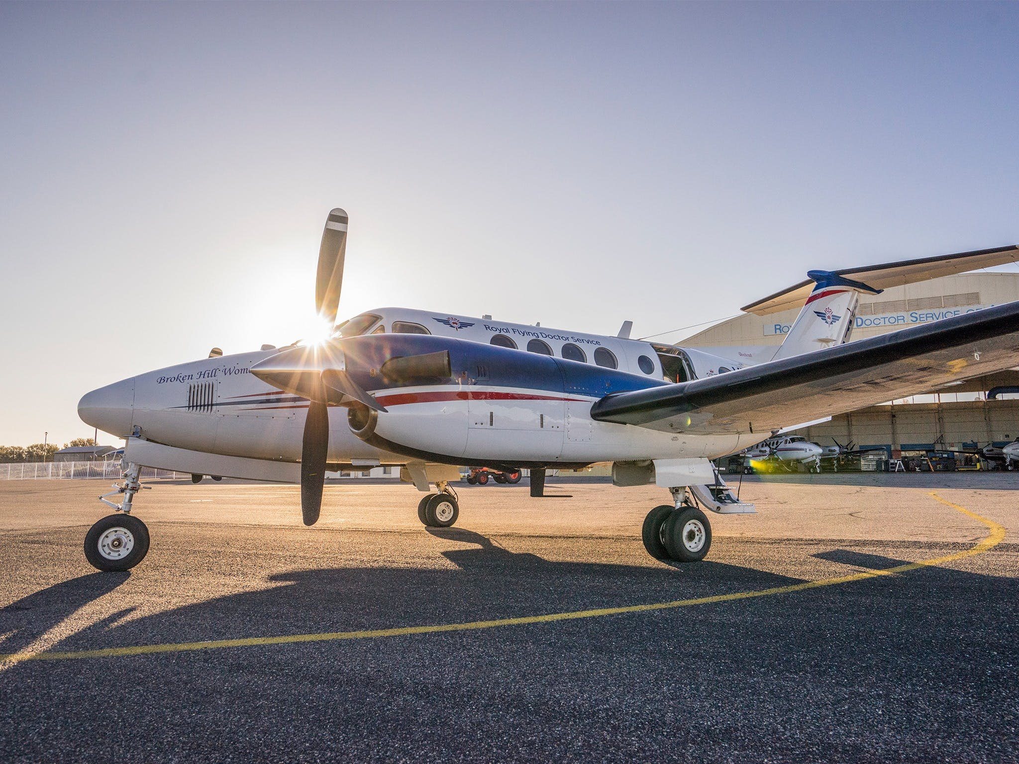 The Royal Flying Doctor Service Outback Experience in Broken Hill - Wagga Wagga Accommodation