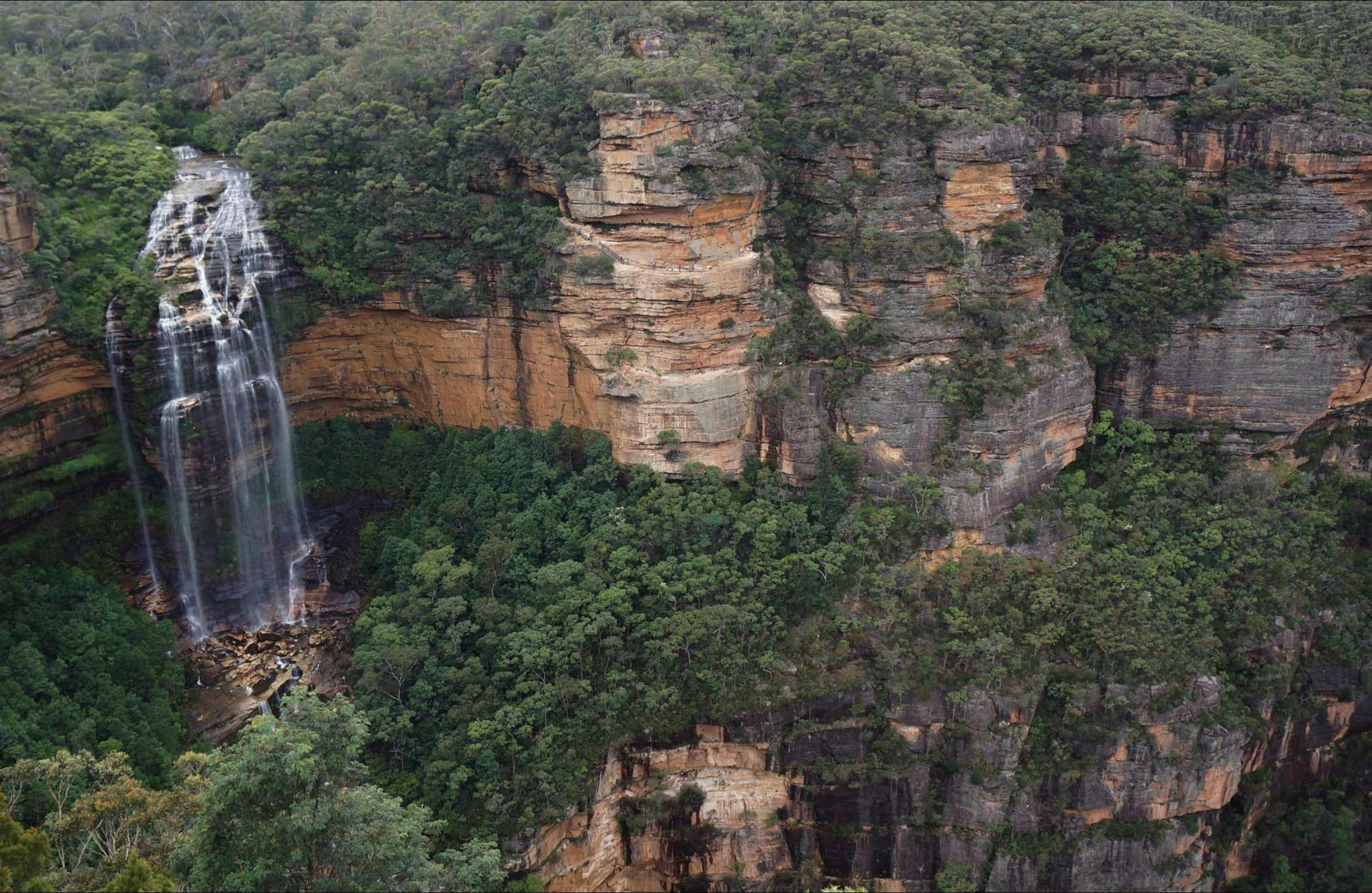 Wentworth Falls Lookout - Wagga Wagga Accommodation