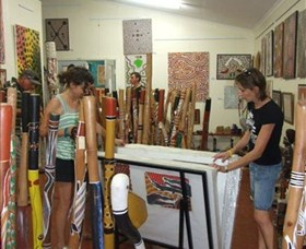 Top Didj and Art Gallery - Wagga Wagga Accommodation