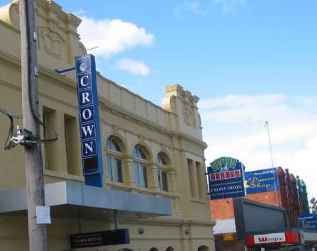 Crown Hotel Lilydale - Wagga Wagga Accommodation