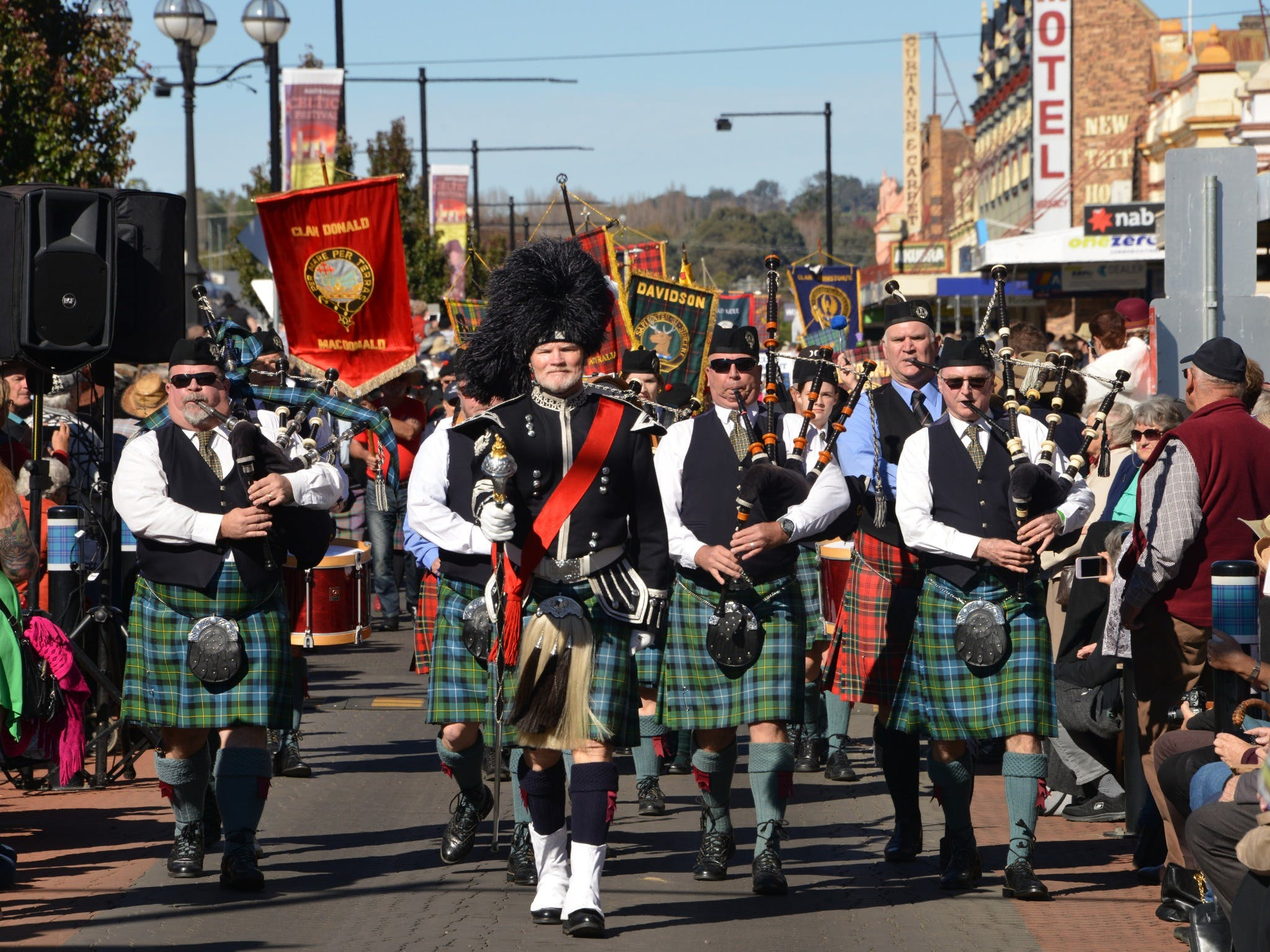 Australian Celtic Festival - Wagga Wagga Accommodation