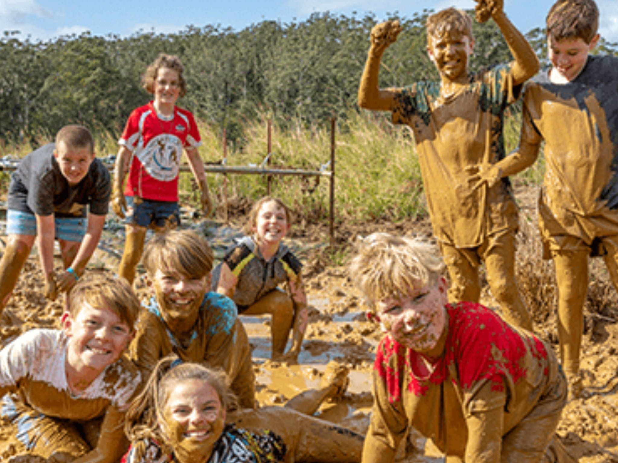 Mini Muddies Obstacle Challenge at Bunnamagoo Estate - Wagga Wagga Accommodation