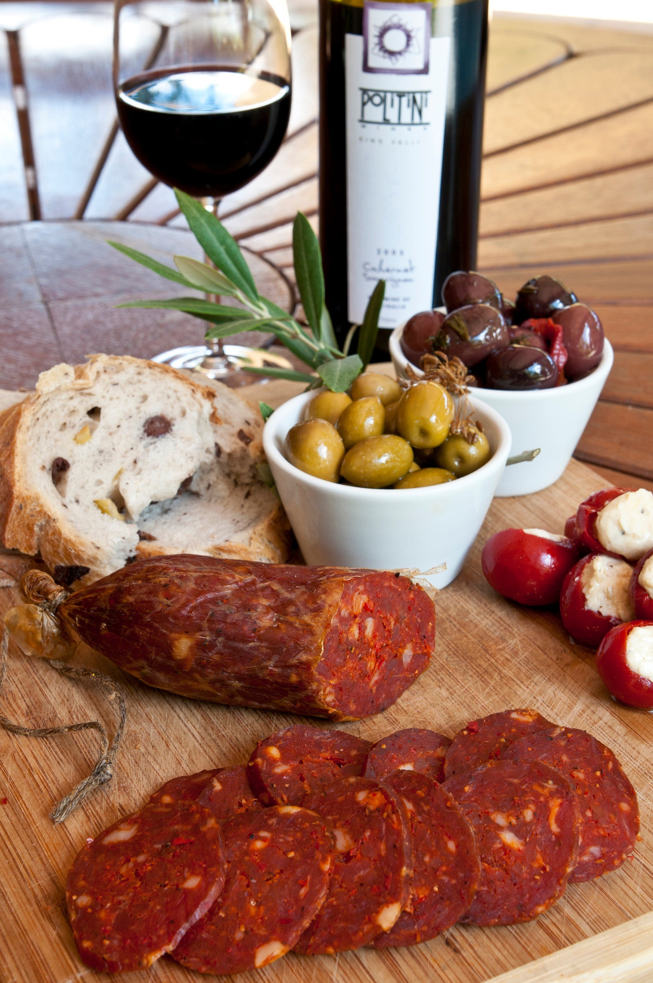 Salami and Salsicce Making classes at Politini Wines - Wagga Wagga Accommodation
