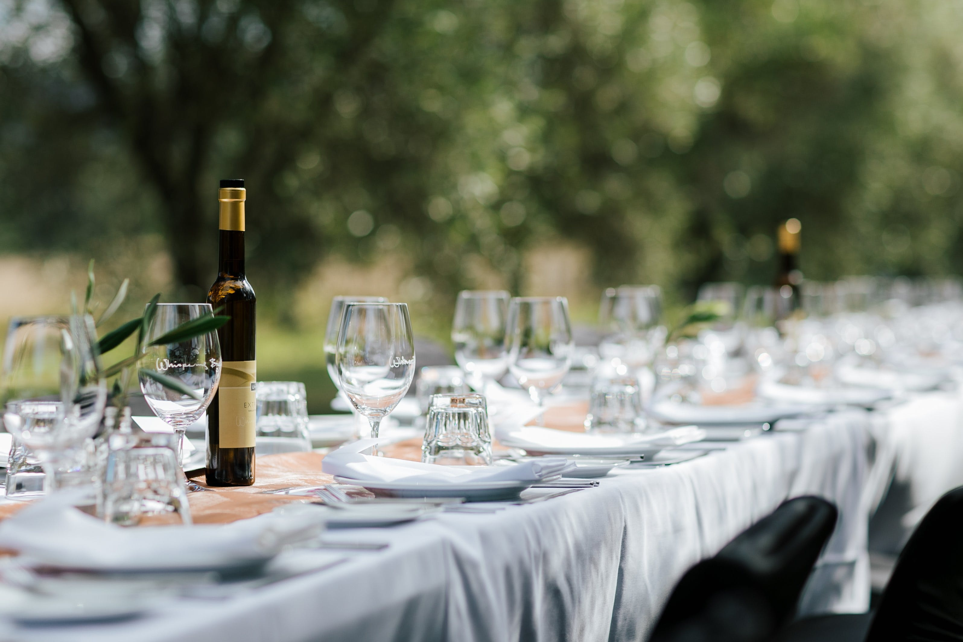 Whispering Brook Olive Long Table Luncheon - Wagga Wagga Accommodation