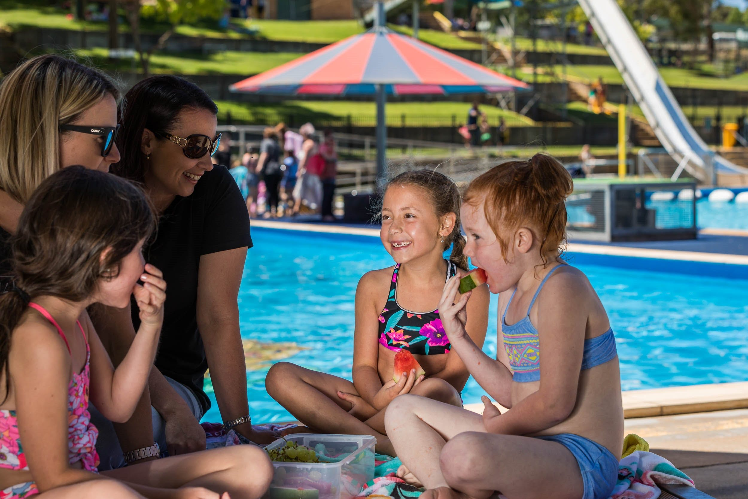 Australia Day fun at Lake Talbot Water Park - Wagga Wagga Accommodation