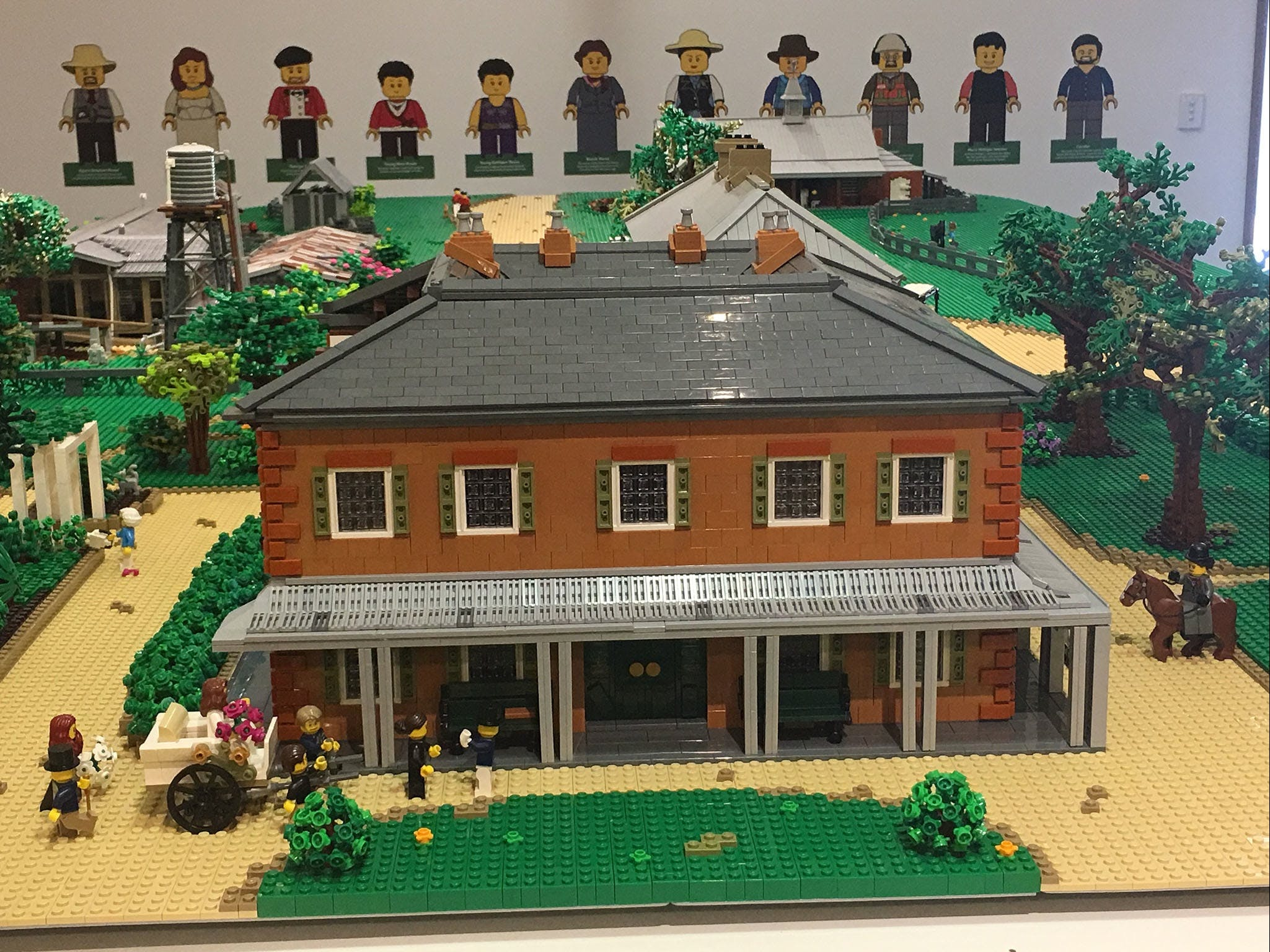 Rouse Hill House and Farm in Lego Bricks - Wagga Wagga Accommodation