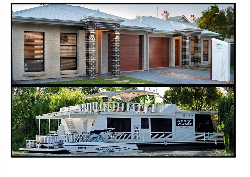 Renmark River Villas and Boats  Bedzzz - Wagga Wagga Accommodation